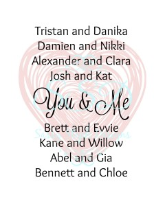you and me book couples
